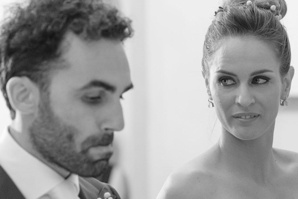 lo sguardo della sposa
