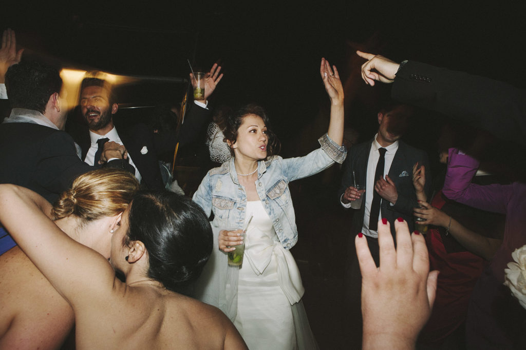 bride in demin