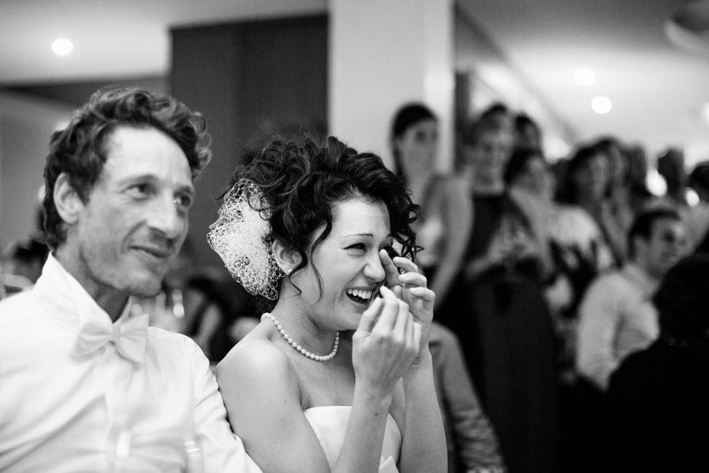 bride emotional moment