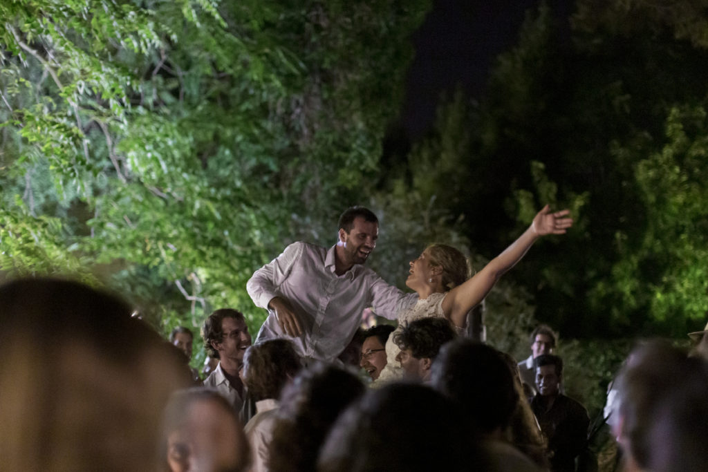gipsy party style wedding